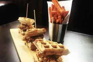 Chicken and Waffle Slider - delivery menu
