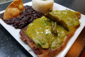 Bistec en Salsa Verde - delivery menu