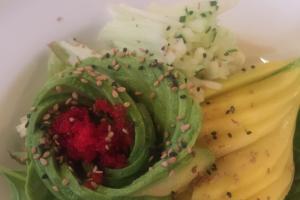 Asian  Felt Green Salad - delivery menu