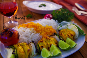 39. Chicken Shish Kabob - delivery menu