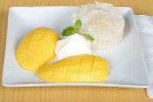 Mango with Sweet Sticky Rice - delivery menu