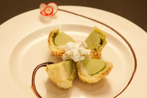 2. Tempura Ice Cream - delivery menu
