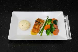 Glazed Salmon - delivery menu