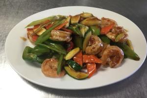 64. Garlic Shrimp - delivery menu