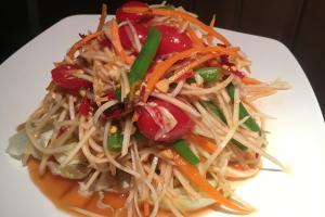 S4. Papaya Salad - delivery menu