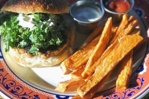 Tuna Burger - delivery menu