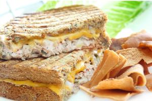 5. Tuna Panini - delivery menu