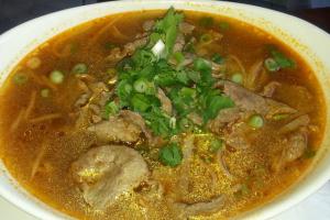 Beef Noodle Soup - delivery menu