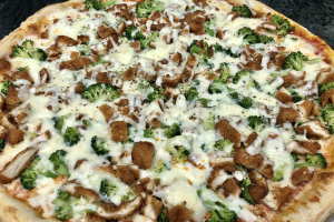 Chicken and Broccoli Pizza - delivery menu