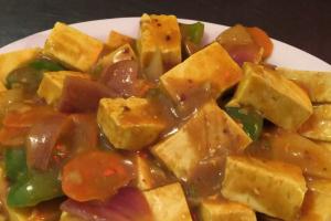 Curry Tofu - delivery menu