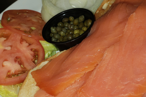 Bagel with Lox - delivery menu