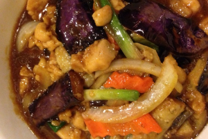 322. Eggplant and Chicken - delivery menu
