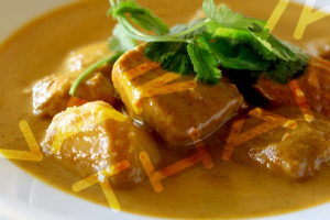 Chicken Yellow Curry - delivery menu