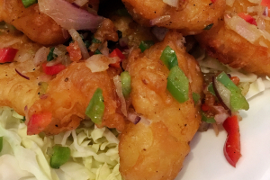 Salt and Pepper Shrimp - delivery menu