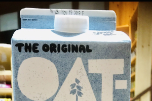 OAT-LY!  Oat – milk  - delivery menu