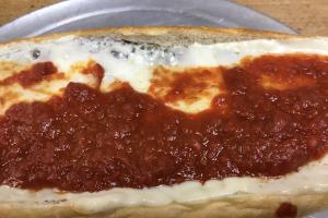 Veal Parmigiana Sandwich - delivery menu