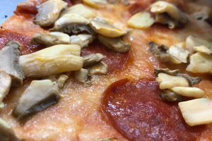 Pepperoni & Mushroom Slice - delivery menu