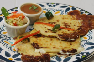 Pork and Cheese Pupusa - delivery menu