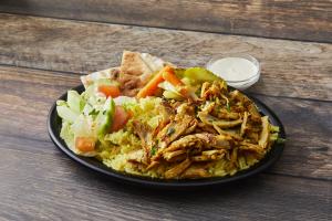 Chicken Shawarma Plate - delivery menu