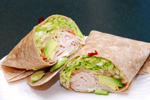 Turkey Avocado Wrap - delivery menu