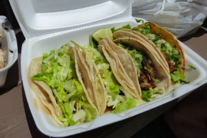 Seafood Tacos - delivery menu