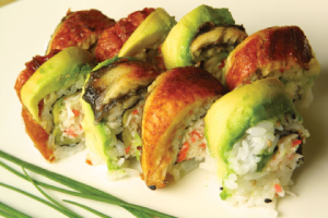 Caterpillar Roll - delivery menu