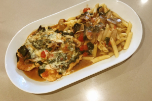 Chicken alla Nino Entree - delivery menu