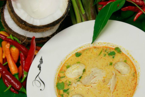 Tom Kha Goong Soup - delivery menu