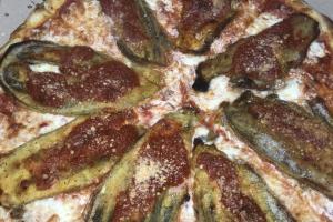 """18"""" Round alla Melanzana Pie - delivery menu"""