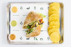 G13. Verde Caprese Panini - delivery menu