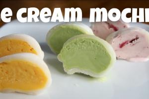 Mochi Ice Cream - delivery menu