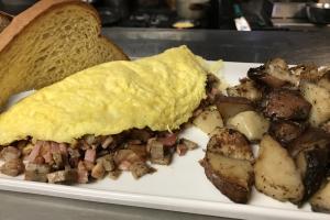 Meat Lovers Omelet Breakfast - delivery menu