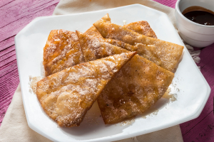 Sopapillas with Honey - delivery menu