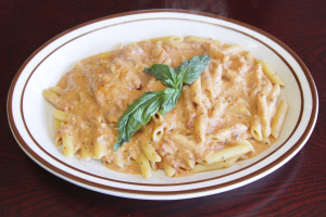 Penne alla Vodka with Chicken Dinner - delivery menu