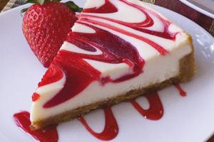 Strawberry Swirl Cheesecake - delivery menu