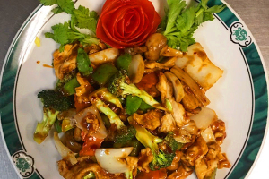 105. Hunan Chicken - delivery menu