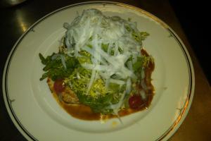 Marinated Grilled Chicken Paillard Salad - delivery menu