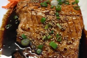 F9. Salmon Teriyaki - delivery menu