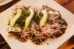 Chicken Enchilada mole - delivery menu