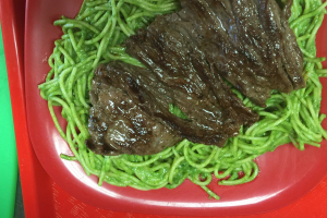 Peruvian Pesto with Steak - delivery menu