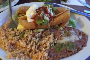 Super Flautas Dinner - delivery menu