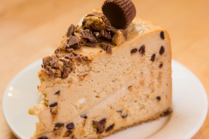 Peanut Butter Chocolate Cheesecake - delivery menu