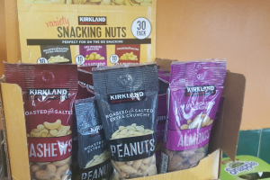 Snacking Nuts 1.6 oz. - delivery menu