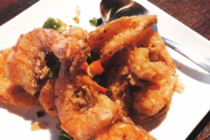 340. Salt and Pepper Prawns with Shell - delivery menu