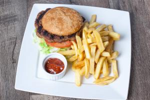 Hamburger Deluxe - delivery menu