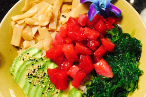Ahi Tuna Poke Bowl - delivery menu