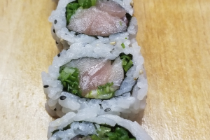 Yellowtail and Scallion Roll - delivery menu