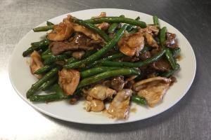36. Shrimp Beans 3 Delight - delivery menu