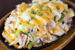 Chicken Cheese Fries - delivery menu