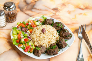 Lamb Shish Kabab - delivery menu
